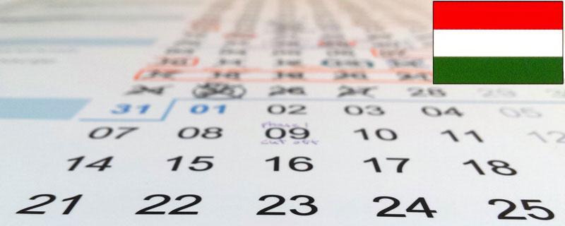 naptár 2019 ünnepnapokkal Heti Munkaido Naptár ünnepnapokkal 2019 (PDF, Excel) • Jernej Zupanc naptár 2019 ünnepnapokkal